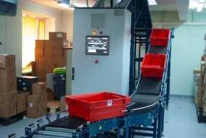 Ленточный конвейер увеличивает производительность труда
